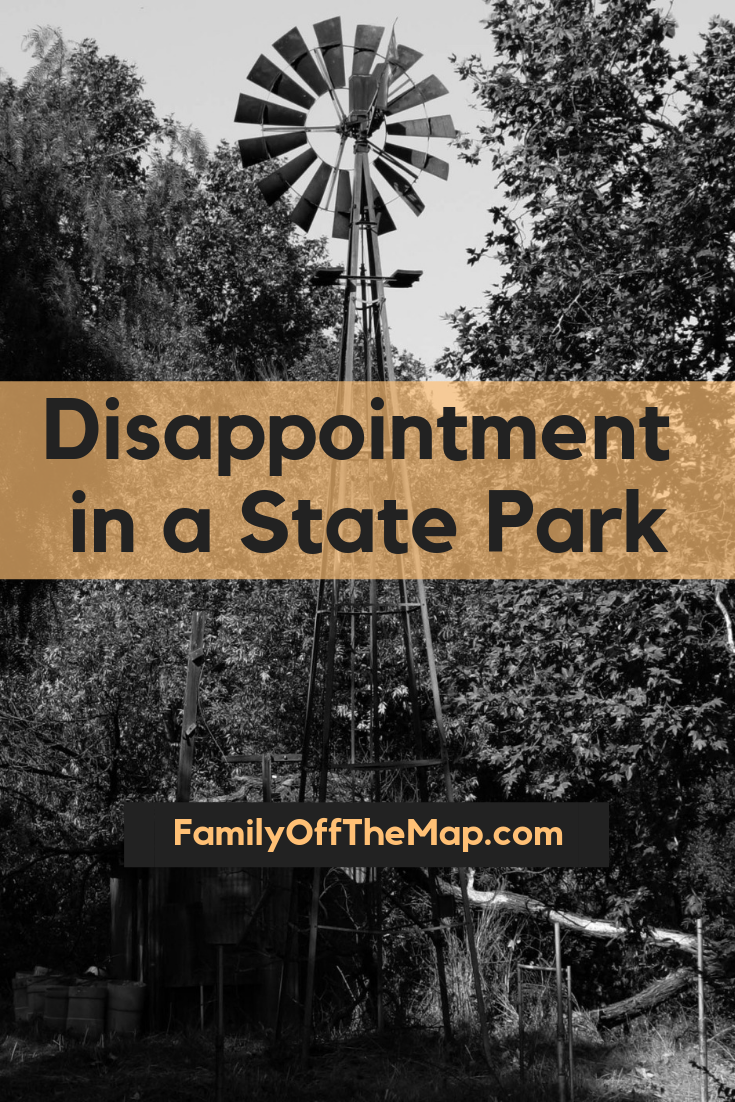 Disappointment in a State Park