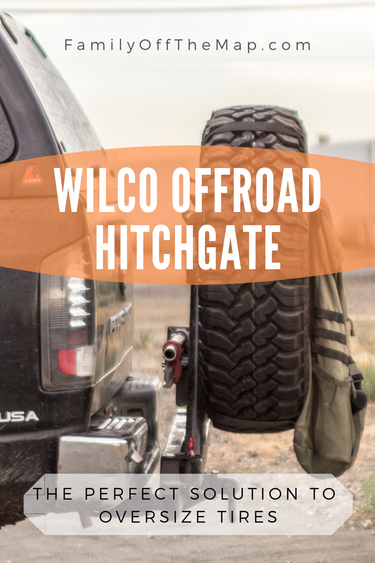 "Hitchgate Classic from Wilco Offroad with a 37"" Falken Tire MT"