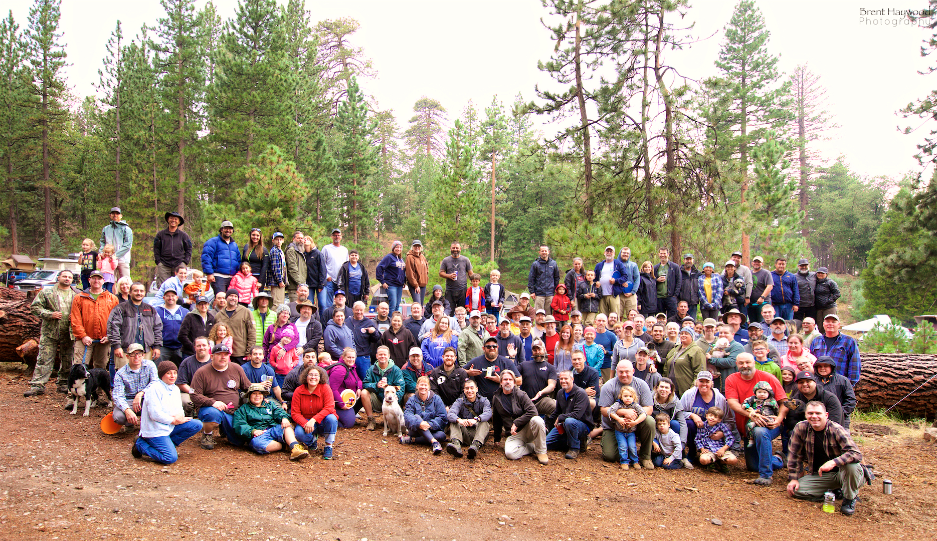 Group photo from the 2017 American Adventurist SoCal Mountain Rendezvous