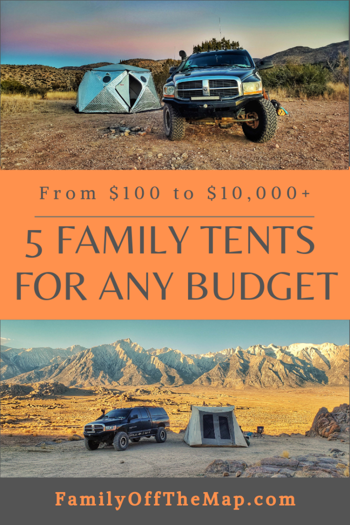 The 5 Best Family Tents for any Budget from $100 to $10,000 +